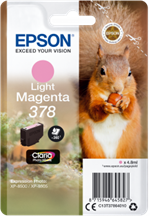 Light magenta blækpatron 378XL til Epson