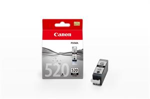 Sort bl�kpatron 520PGBK - Canon - 19ml.