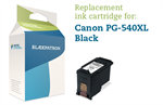 Sort bl�kpatron - Canon nr.540XL - 23 ml