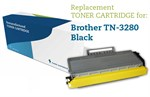 Sort lasertoner 3280 - Brother TN-3280 - 8.000 sider.