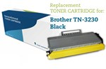 Sort lasertoner 3230 - Brother TN-3230