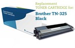 Sort lasertoner  TN-325BK til Brother