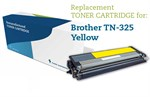 Gul lasertoner TN-325Y til Brother