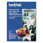 Mat fotopapir A4 - 145gr. til Brother