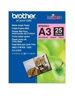 Mat Inkjetpapir A3 145gr Brother