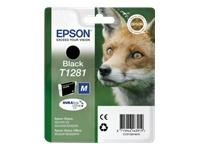 Sort bl�kpatron T1281 - Epson - 5,9ml