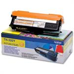 Gul lasertoner TN320Y original til  Brother